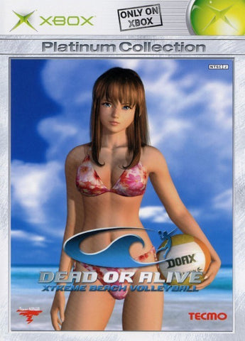 Dead or Alive: Xtreme Beach Volleyball (Platinum Collection) - Xbox (Japan)