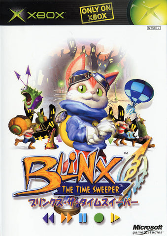 Blinx: The Time Sweeper - Xbox (Japan)