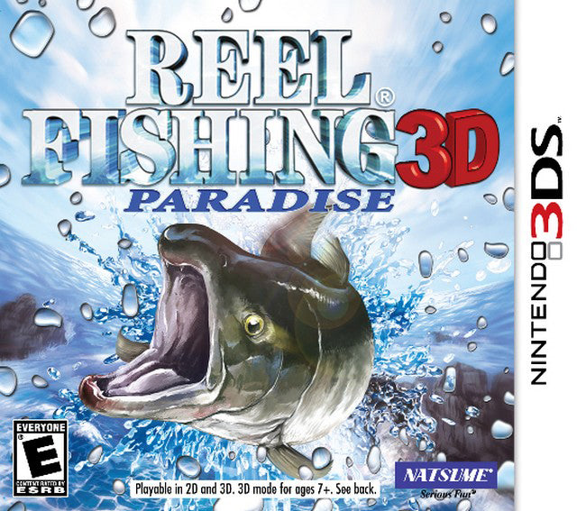 Reel Fishing Paradise 3D - Nintendo 3DS [USED]