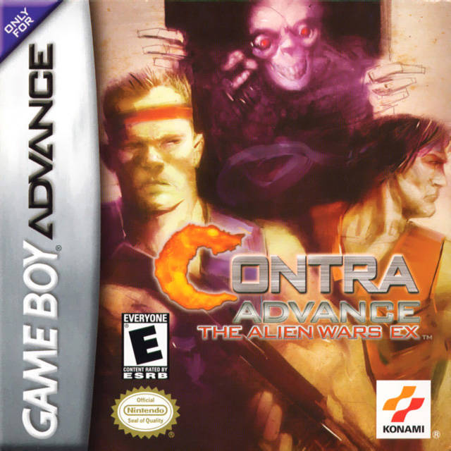 Contra Advance: The Alien Wars EX - Game Boy Advance (Platformer, 2002, US )