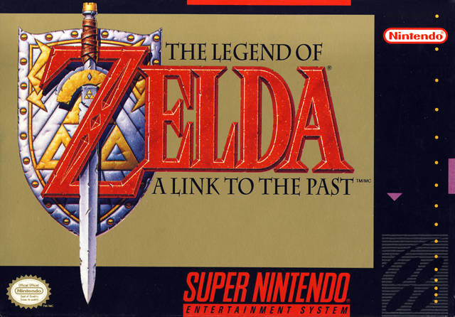 The Legend of Zelda: A Link to the Past - Super Nintendo [USED]