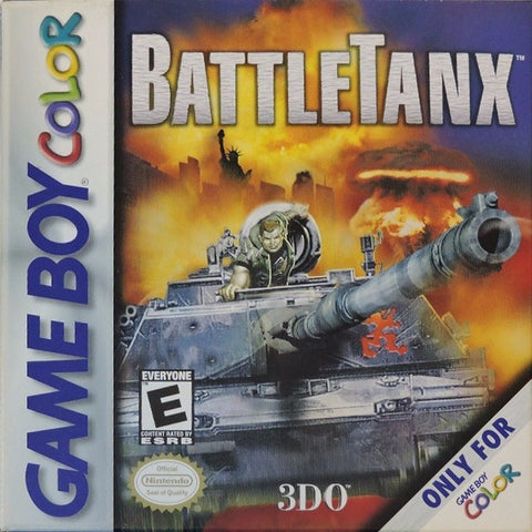 BattleTanx - Game Boy Color [USED]