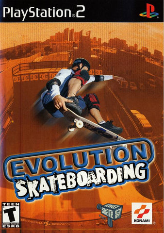 Evolution Skateboarding - PlayStation 2