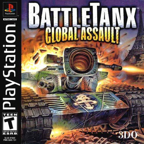 BattleTanx: Global Assault - PlayStation