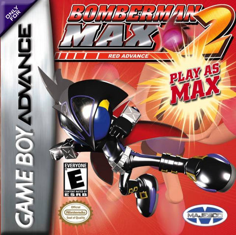 Bomberman Max 2: Red Advance - Game Boy Advance [USED]