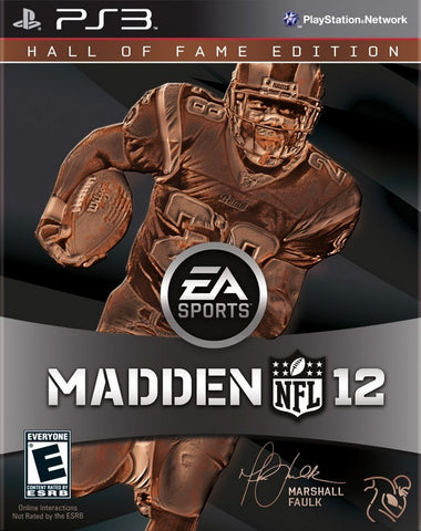 Madden NFL 12 (Hall of Fame Edition) - PlayStation 3