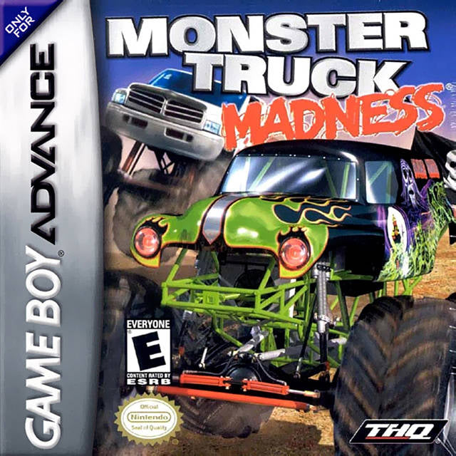 Monster Truck Madness - Game Boy Advance (Racing, 2003, US )