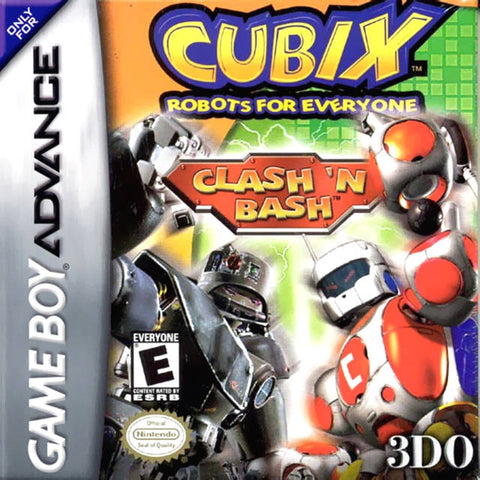 Cubix Robots for Everyone: Clash 'n Bash - Game Boy Advance (Beat-'Em-Up, 2002, US )