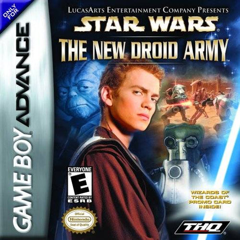 Star Wars: The New Droid Army - Game Boy Advance [USED]