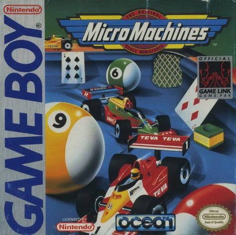 Micro Machines - Game Boy [USED]