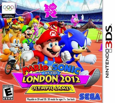 Mario & Sonic at the London 2012 Olympic Games - Nintendo 3DS [NEW]