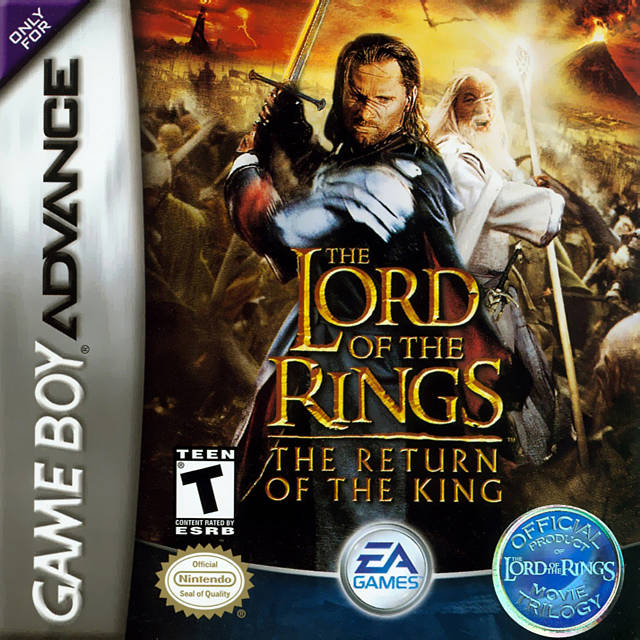 The Lord of the Rings: The Return of the King - Game Boy Advance (Beat-'Em-Up, 2003, US )