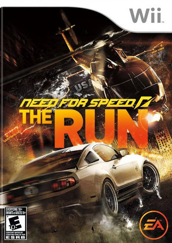 Need for Speed: The Run - Nintendo Wii [NEW]
