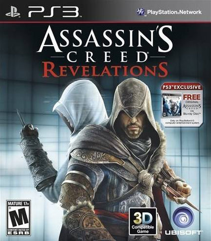 Assassin's Creed: Revelations (First Print Limited Edition) - PlayStation 3