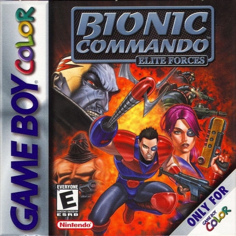 Bionic Commando: Elite Forces - Game Boy Color [USED]