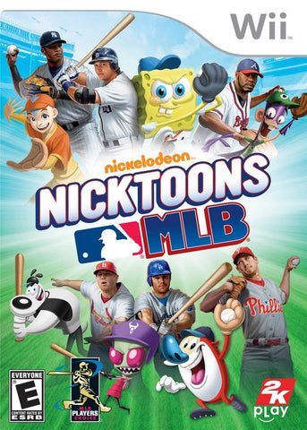 Nicktoons MLB - Nintendo Wii [NEW]