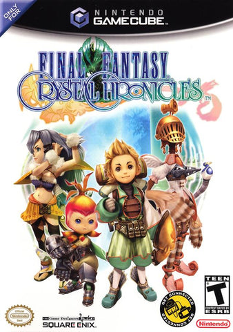 Final Fantasy Crystal Chronicles - GameCube [USED]