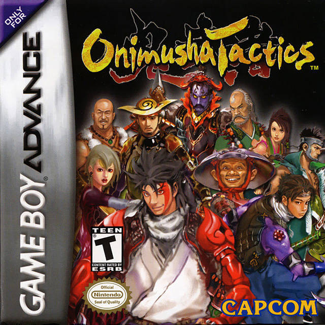 Onimusha Tactics - Game Boy Advance (TPS Strategy, 2003, US )
