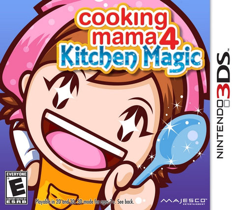 Cooking Mama 4: Kitchen Magic - Nintendo 3DS [NEW]