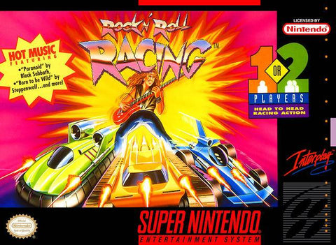 Rock N' Roll Racing - Super Nintendo [USED]