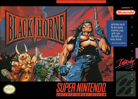 Blackthorne - Super Nintendo [USED]