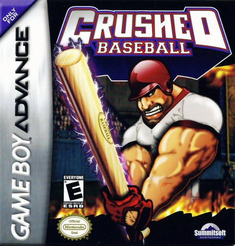 Crushed Baseball - Game Boy Advance (Sports, 2004, US )