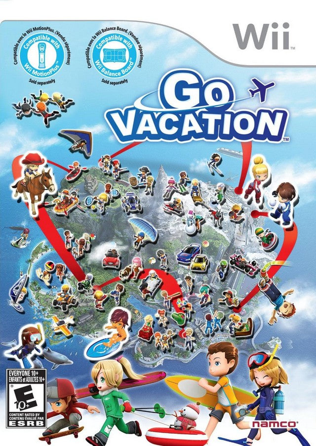 Go Vacation - Nintendo Wii [NEW]