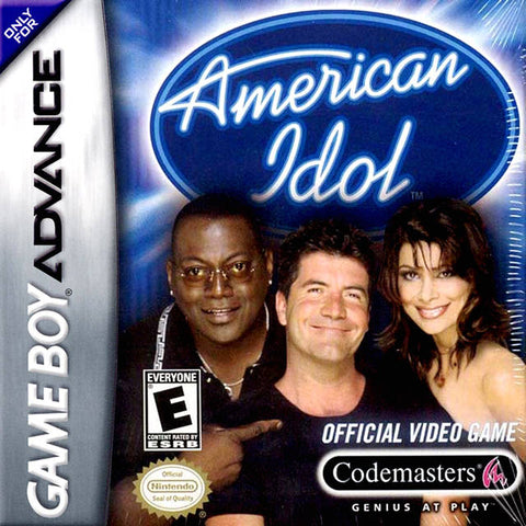 American Idol - Game Boy Advance [USED]