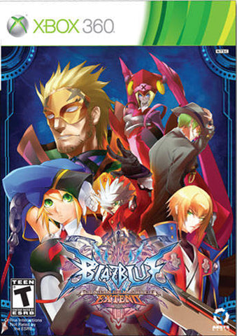 BlazBlue: Continuum Shift Extend (Limited Edition) - Xbox 360