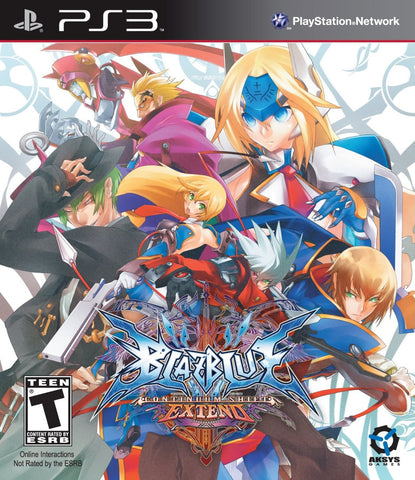 BlazBlue: Continuum Shift Extend - PlayStation 3