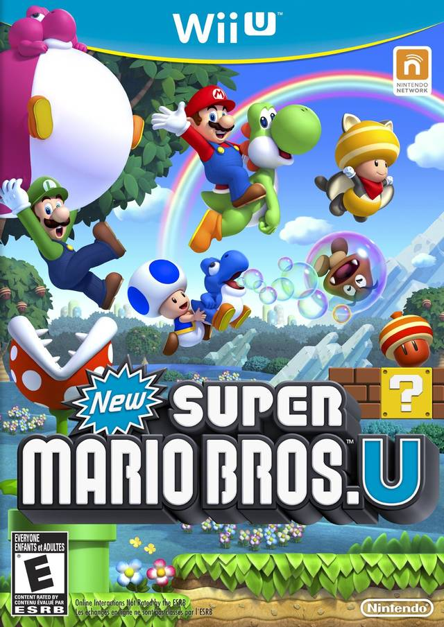 New Super Mario Bros. U - Nintendo Wii U [NEW]