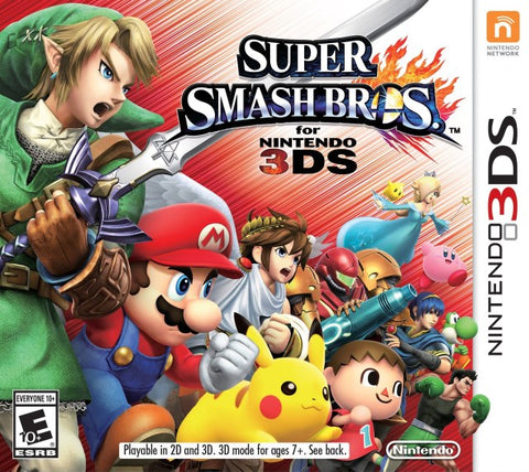Super Smash Bros. for Nintendo 3DS - Nintendo 3DS [USED]