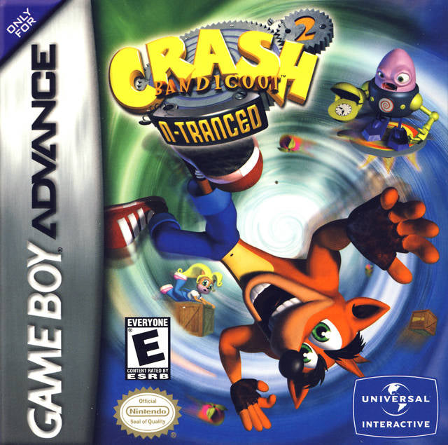 Crash Bandicoot 2: N-Tranced - Game Boy Advance