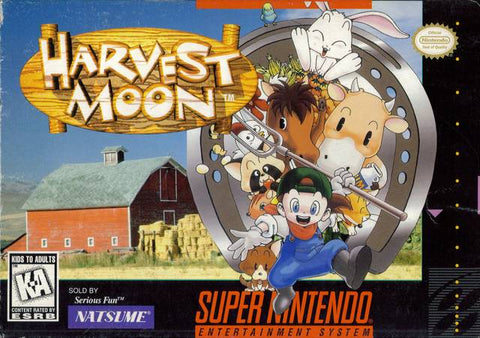 Harvest Moon - Super Nintendo [USED]