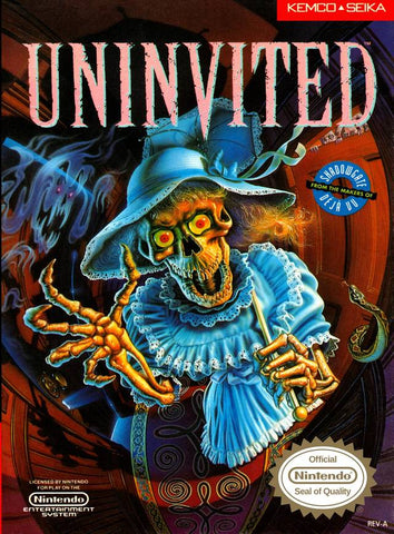 Uninvited - Nintendo NES [USED]