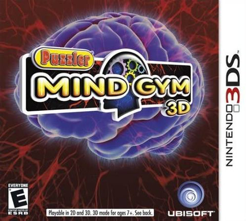 Puzzler Mind Gym 3D - Nintendo 3DS [USED]