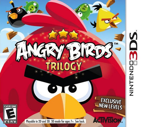 Angry Birds Trilogy - Nintendo 3DS [USED]