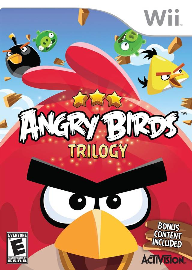 Angry Birds Trilogy - Nintendo Wii [USED]