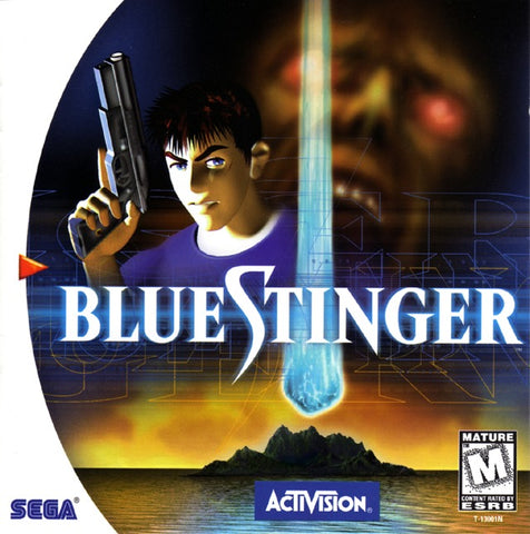 Blue Stinger - SEGA Dreamcast (A-AVG, 1999) [USED]