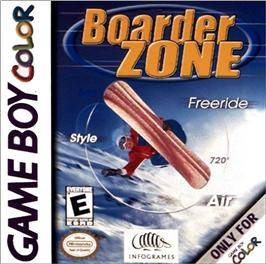 Boarder Zone - Game Boy Color [USED]