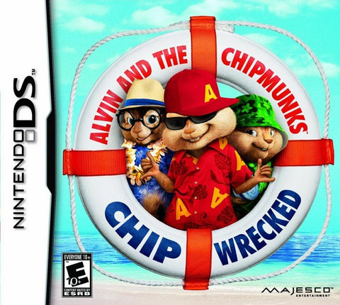 Alvin and the Chipmunks: Chipwrecked - Nintendo DS