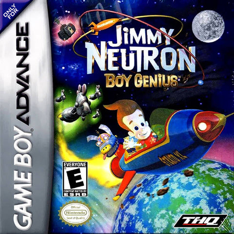 Jimmy Neutron: Boy Genius - Game Boy Advance [USED]
