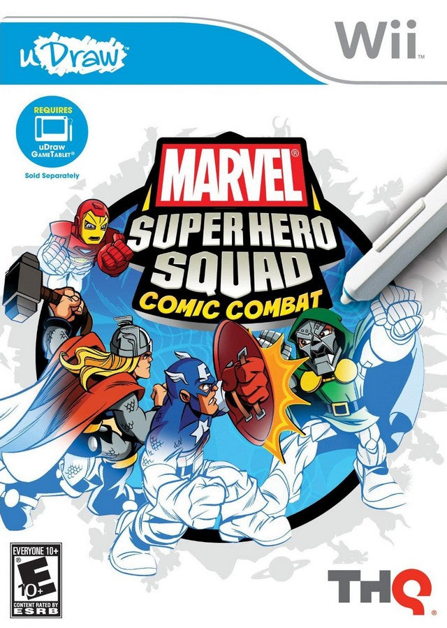 Marvel Super Hero Squad: Comic Combat - Nintendo Wii [NEW]