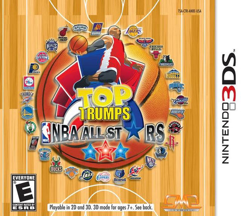 Top Trumps NBA All Stars - Nintendo 3DS [USED]