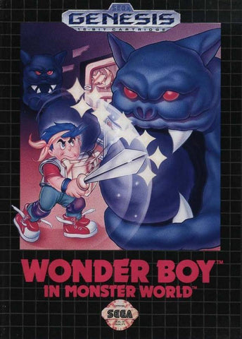 Wonder Boy in Monster World - SEGA Genesis [USED]