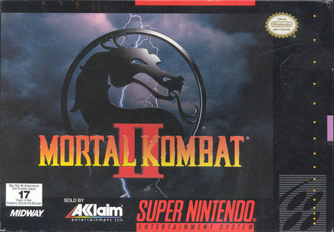 Mortal Kombat II - Super Nintendo [USED]