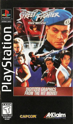 Street Fighter: The Movie (Long Box) - PlayStation