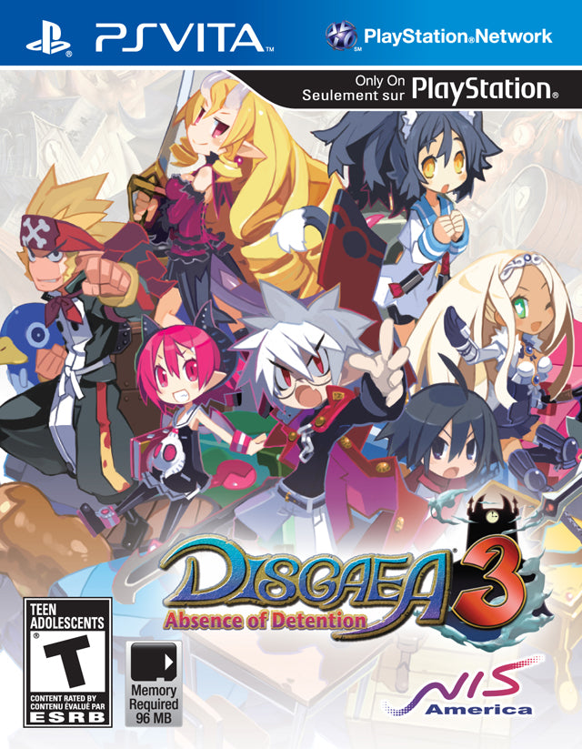 Disgaea 3: Absence of Detention - PS Vita