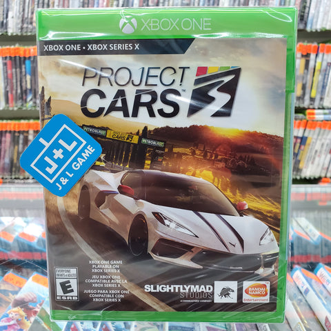 Project CARS 3 - Xbox One Front Cover