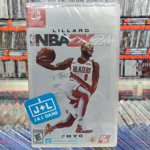 NBA 2K21 Nintendo Switch Box Cover